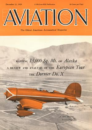 Cover for the December 21 1929 issue