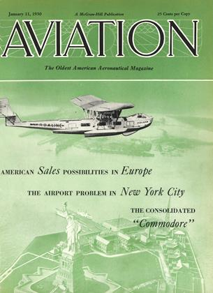 Cover for the January 11 1930 issue