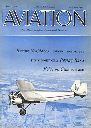 Cover for the June 21 1930 issue