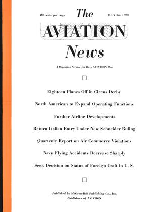 Cover for the July 26 1930 issue