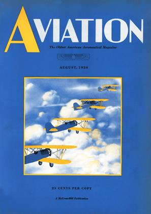 Cover for the August 1 1930 issue