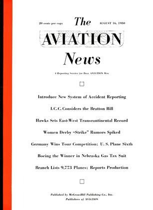 Cover for the August 16 1930 issue