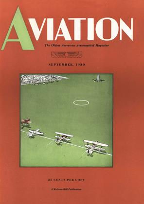 Cover for the September 1 1930 issue