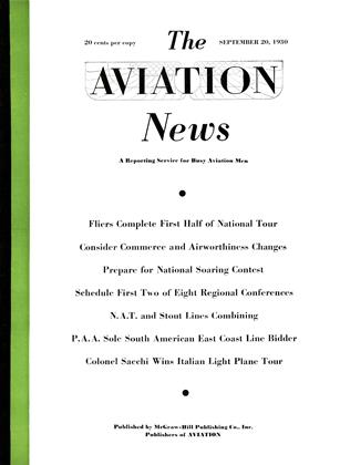 Cover for the September 20 1930 issue
