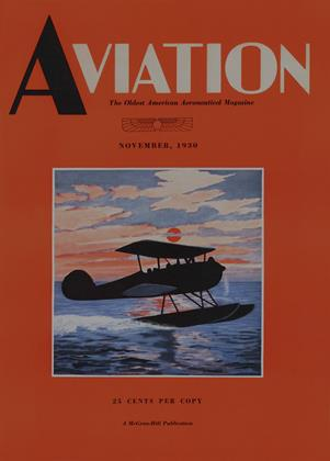 Cover for the November 1 1930 issue