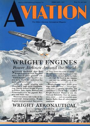 Cover for the February 1 1932 issue