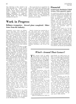 Work in Progress, Page: 64 - JULY, 1935 | Aviation Week
