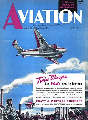 Cover for the January 1 1942 issue