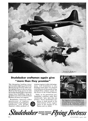 Advertisement, Page: 324 - APRIL 1943 | Aviation Week