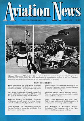 Cover for the August 9 1943 issue