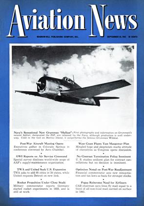 Cover for the September 20 1943 issue