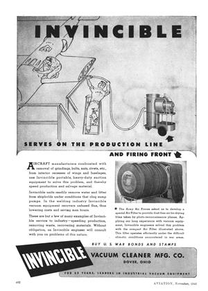 Advertisements, Page: 402 - NOVEMBER 1943 | Aviation Week