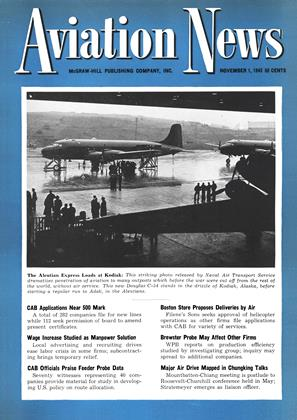 Cover for the November 1 1943 issue