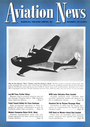 Cover for the November 8 1943 issue