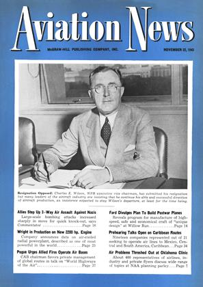 Cover for the November 22 1943 issue