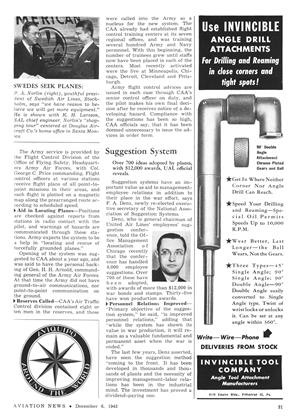 Invincible Tool Company, Page: 31 - DECEMBER 6, 1943 | Aviation Week