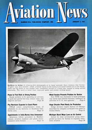 Cover for the January 3 1944 issue