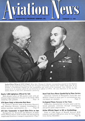 Cover for the February 21 1944 issue