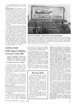 Boeing Shift, Page: 11 - APRIL 3, 1944 | Aviation Week