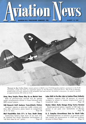 Cover for the August 14 1944 issue