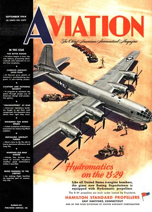 Cover for the September 1 1944 issue