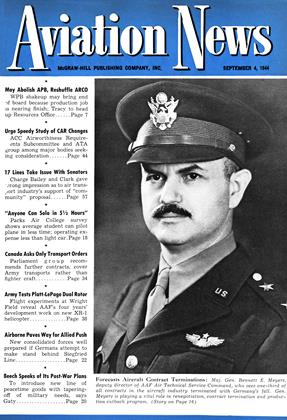 Cover for the September 4 1944 issue