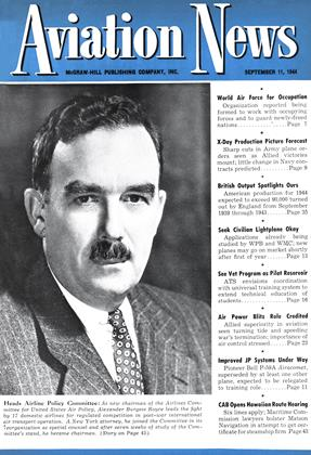 Cover for the September 11 1944 issue