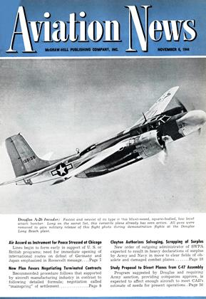 Cover for the November 6 1944 issue