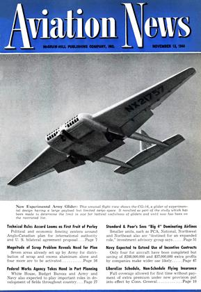 Cover for the November 13 1944 issue
