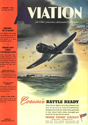 Cover for the January 1945 issue