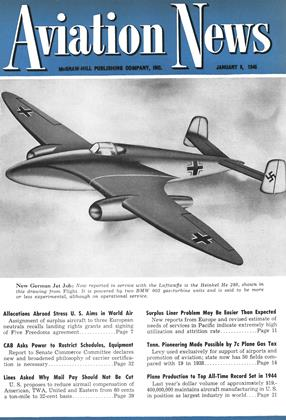 Cover for the January 8 1945 issue