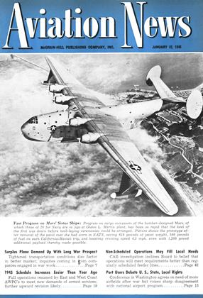 Cover for the January 22 1945 issue