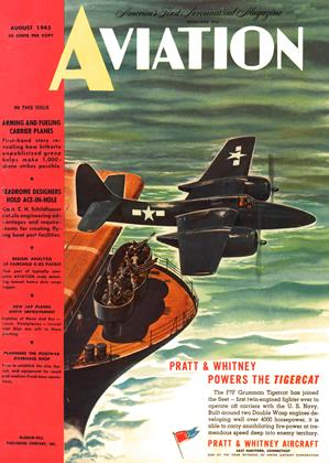 Cover for the August 1 1945 issue
