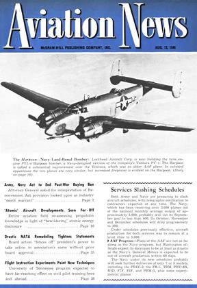 Cover for the August 13 1945 issue