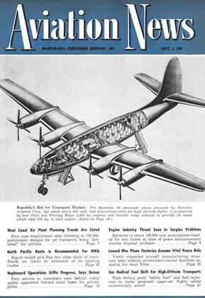 Cover for the September 3 1945 issue