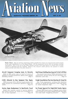 Cover for the September 10 1945 issue