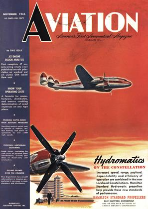 Cover for the November 1 1945 issue