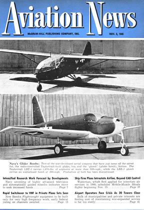 Cover for the November 5 1945 issue