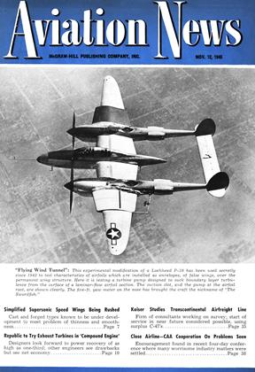Cover for the November 12 1945 issue