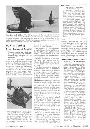 All-metal Skyfarer, Page: 8 - NOV. 19, 1945 | Aviation Week