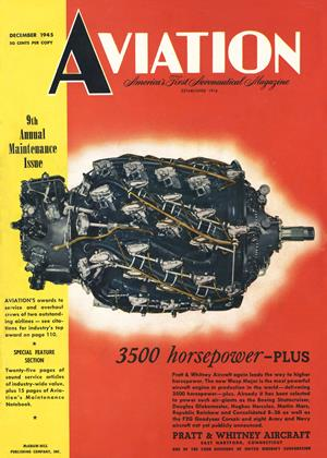 Cover for the December 1 1945 issue