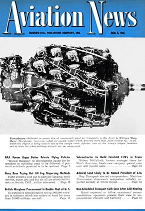 Cover for the December 3 1945 issue