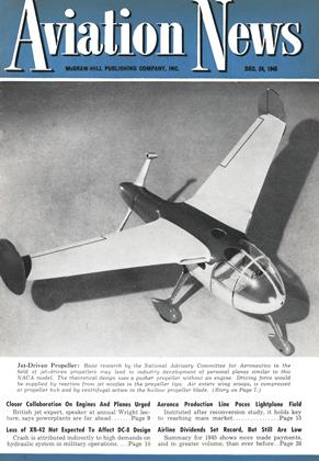 Aviation News, Page: 1 - DEC. 24, 1945 | Aviation Week