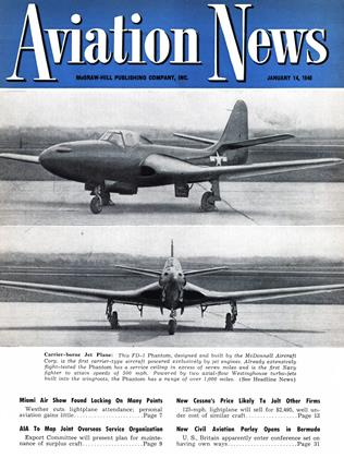 Cover for the January 14 1946 issue
