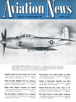 Cover for the January 21 1946 issue