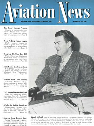 Cover for the February 25 1946 issue