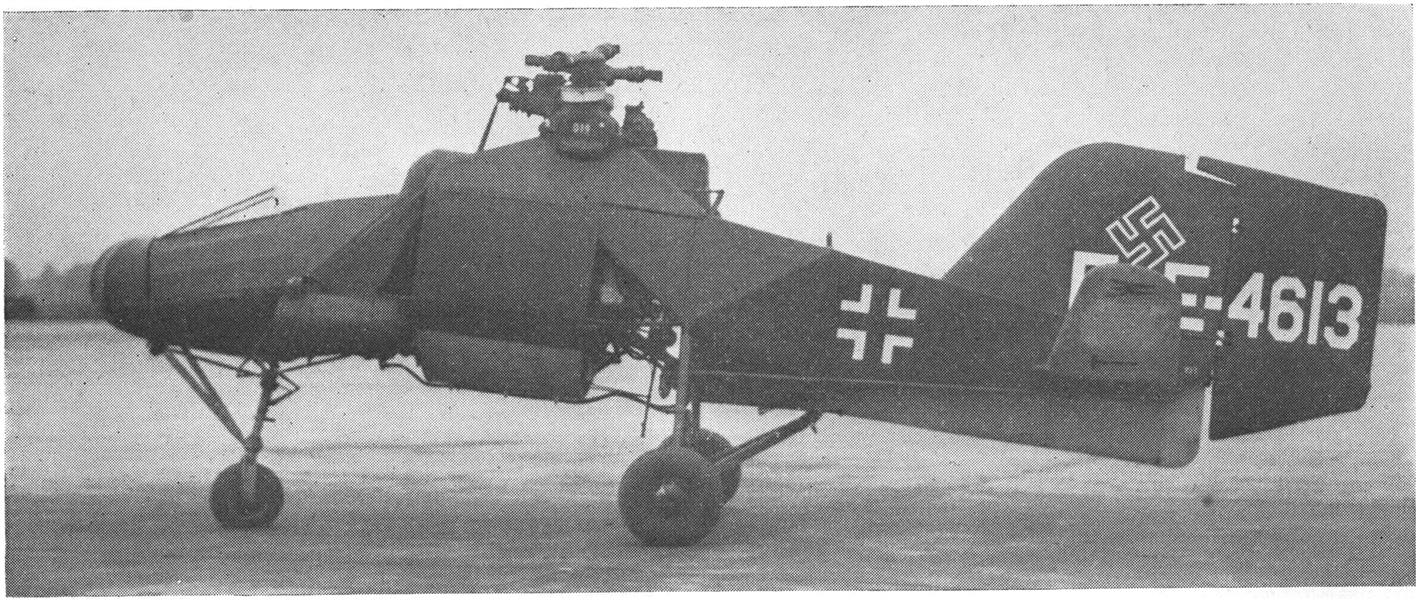 Design and Flight Characteristics of the Flettner Fi-282 Helicopter, Page: 60 - JUNE 1946 | Aviation Week