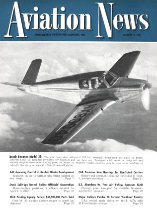 Cover for the August 5 1946 issue