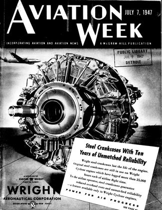 Cover for the July 7 1947 issue