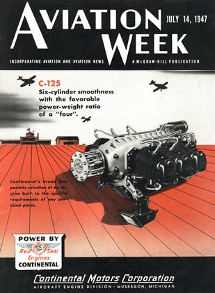 Cover for the July 14 1947 issue